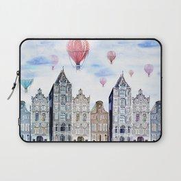 Amsterdam  watercolor Laptop Sleeve