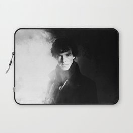 AMAZING SHERLOCK - BLACK & WHITE Laptop Sleeve