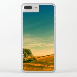 Country roads Clear iPhone Case