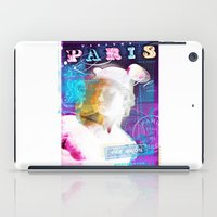 posters iPad Cases featuring Paris Posters - Hermez by G_Stevenson
