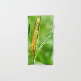 Magic Grass - Caterpillar - Macro Hand & Bath Towel