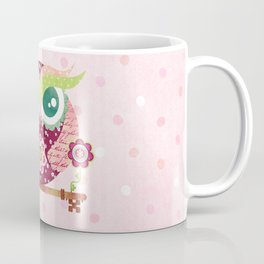Spring Blossom Owl Coffee Mug