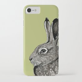 Woodland Hare iPhone Case