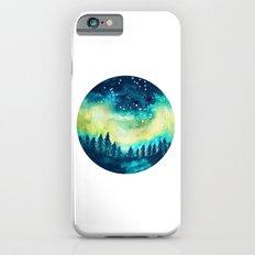Aurora Borealis Circle iPhone 6 Slim Case