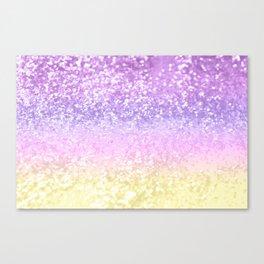 Unicorn Girls Glitter #4 #shiny #decor #art #society6 Canvas Print