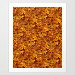 red autumn leaves -02- Kunstdrucke