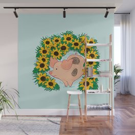 Sunflower Wall Mural