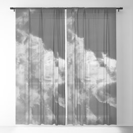 Clouds #1 Sheer Curtain