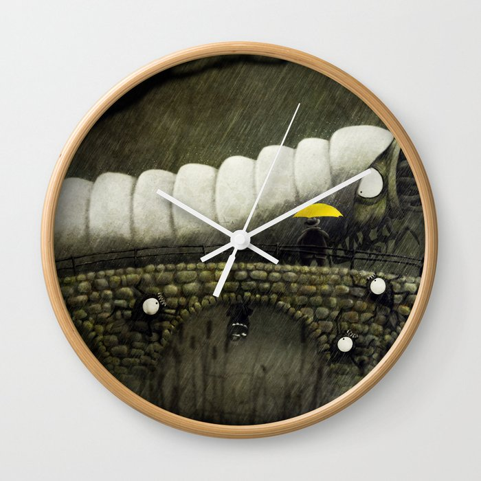Uncospicuolicious Wall Clock