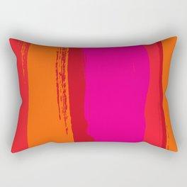 dynamic stripes Rectangular Pillow