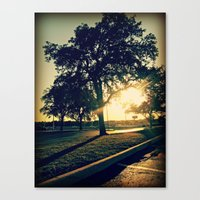 tree of life Canvas Prints featuring Tree Life by Rebekah