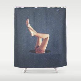 Hula Hole Shower Curtain