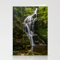 waterfall Stationery Cards featuring Waterfall by Pati Designs