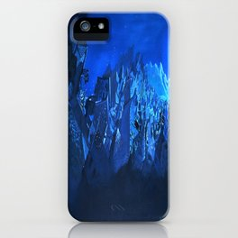 blue village iPhone Case