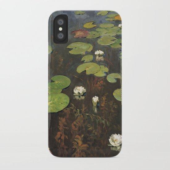 Waterlilies iPhone Case