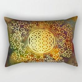 Flower Of Life (Batik 2) Rectangular Pillow