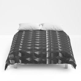 Burnt Out Noir Comforters
