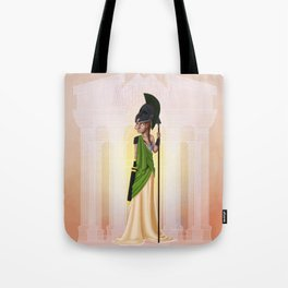 Greek Goddesses - Athena Tote Bag