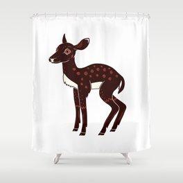 a Deer a Doe Shower Curtain