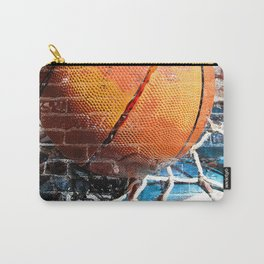 Basketball art swoosh vs 18 Carry-All Pouch