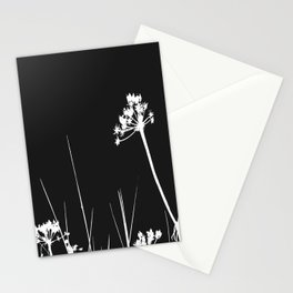 SEA PLANTS W&B Stationery Cards