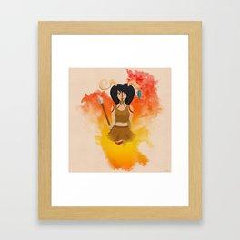 Warrior Hjort  Framed Art Print