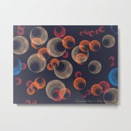 Cosmic Embryos Metal Print