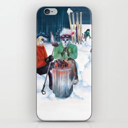Day of the Deadly Snow: Snowball iPhone Skin