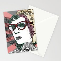 Resist Stationery Cards