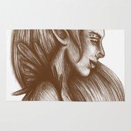 Elven Girl Rug