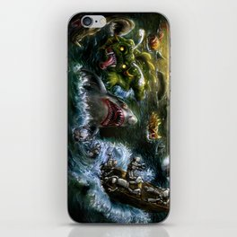 Plight of the Seabots iPhone Skin