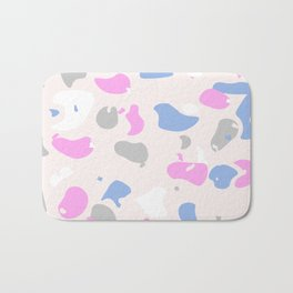 Terrazzo Abstracts Collection, Pattern 6 Bath Mat
