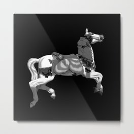 IF WISHES WERE HORSES Metal Print