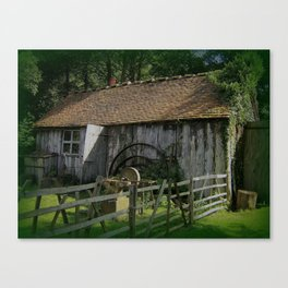 THE OLD SMITHY Canvas Print