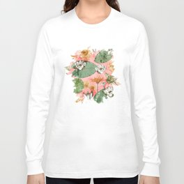 Vintage Royal Gardens #society6artprint #buyart Long Sleeve T-shirt