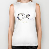 cook Biker Tanks featuring Cook by Ketina