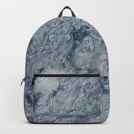 Frozen Ground Dark Blue Backpack