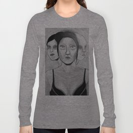my incomplete faces Long Sleeve T-shirt