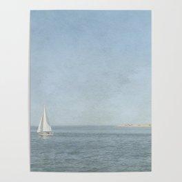 Sunday Sail  - Cape Cod Poster