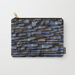Border Construction Carry-All Pouch