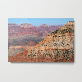 Grand Canyon Ridge and O'Neill Butte Metal Print