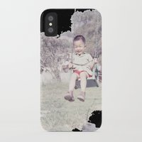 dad iPhone & iPod Cases featuring Dad by Hector Wong