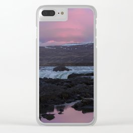 11pm Sunsets Clear iPhone Case