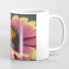 Bee on a flower Coffee Mug