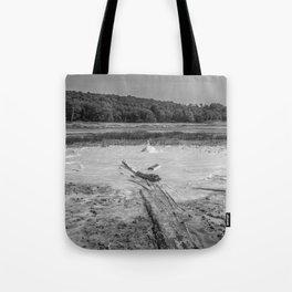 Geyser in background Tote Bag