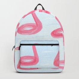 Floating Flamingos Backpack