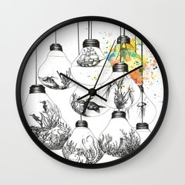 Deep Thinking Wall Clock