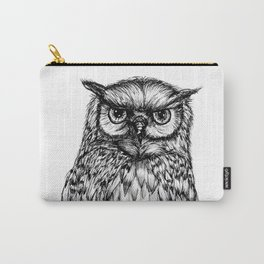 Inked Owl Carry-All Pouch
