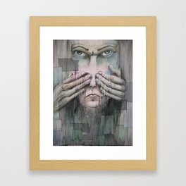 Overshadow of Son Framed Art Print