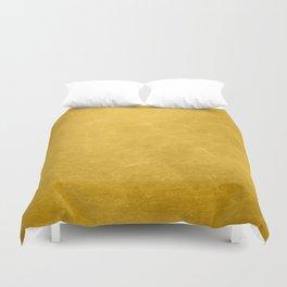 Sunshine Gold Duvet Cover